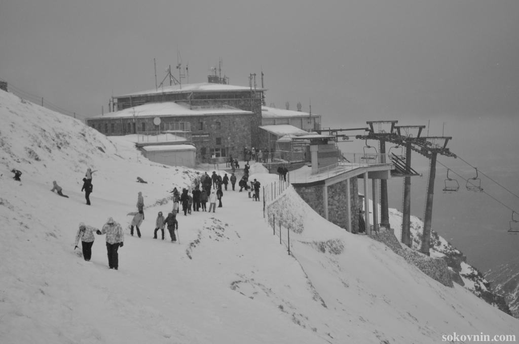Вершина горы Каспровы верх в Закопане