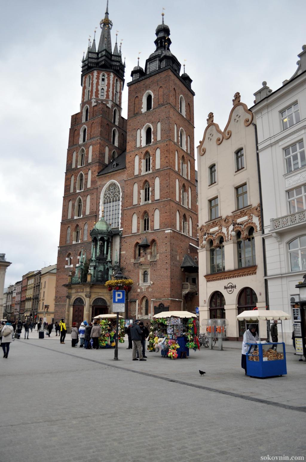 HardRock cafe в Кракове