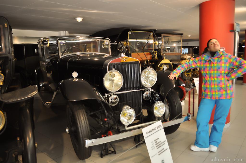 Музей машин в Андорре