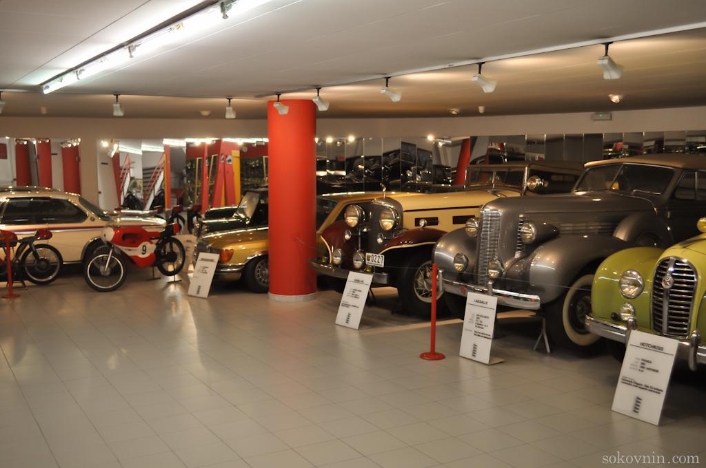 Музей старинных автомоилей в Андорре