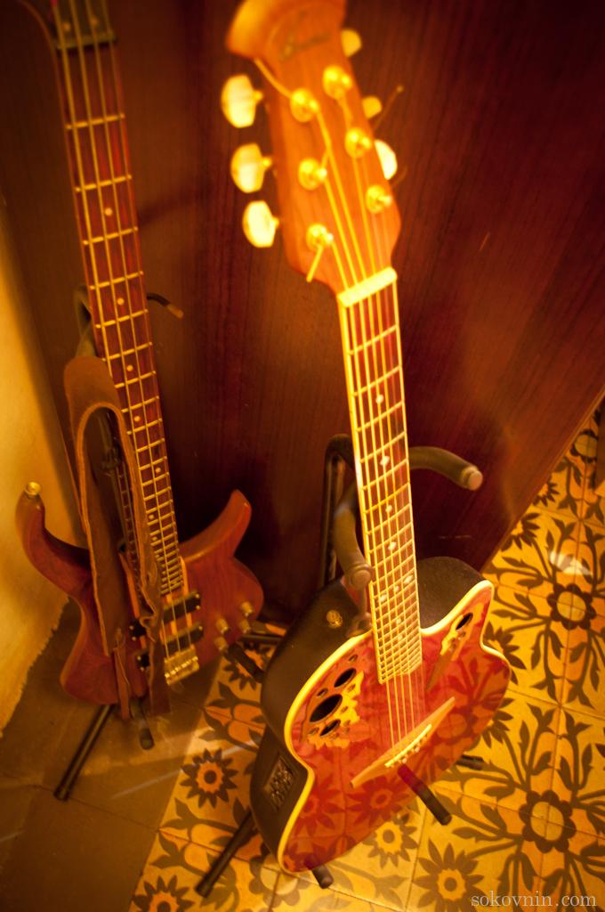 Гитара Роло в Барселоне