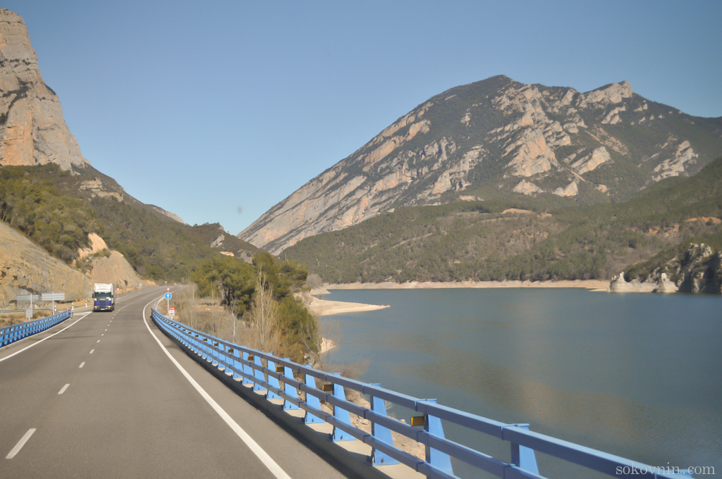 Дорога из Барселоны в Андорру