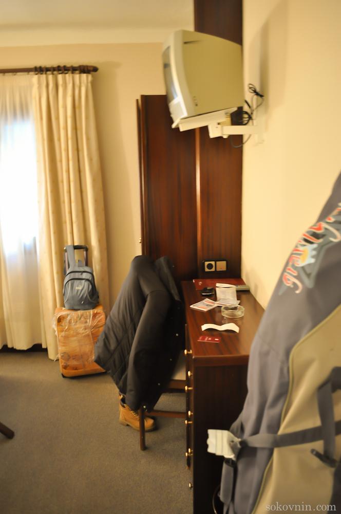 Наш отель в Андорре