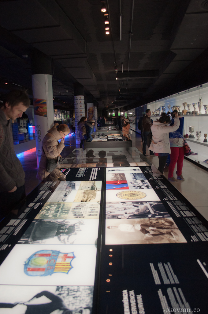 Музей стадион Камп Ноу в Барселоне