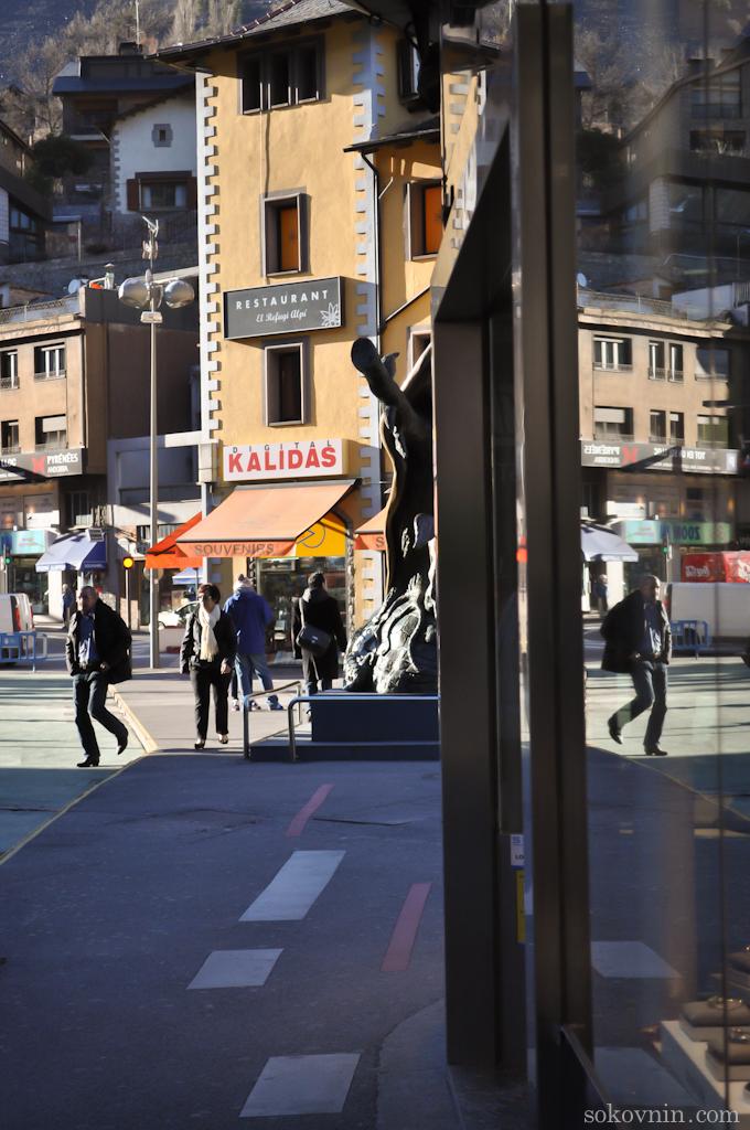 Улицы Андорры Ла Веллы