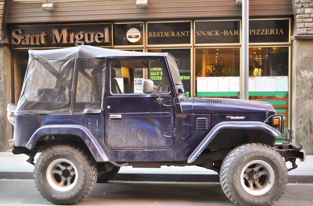 Старые машины в Андорре Ла Велье