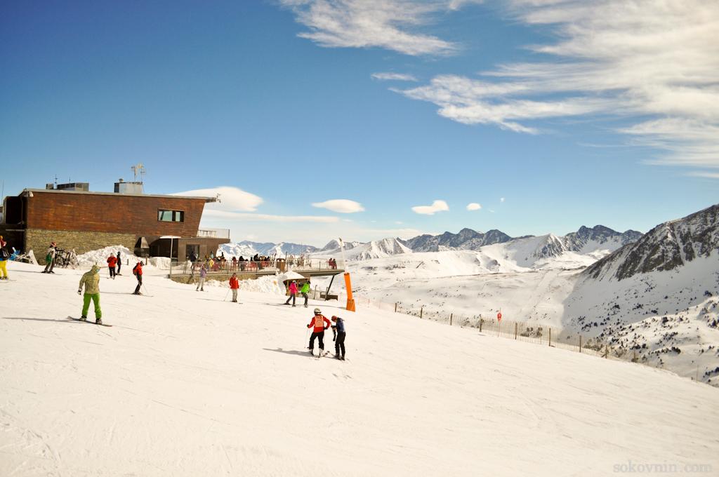 Фото горнолыжный курорт Андорра