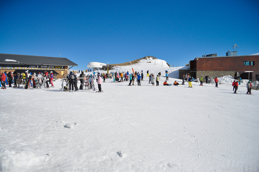 Сноуборд в Андорре