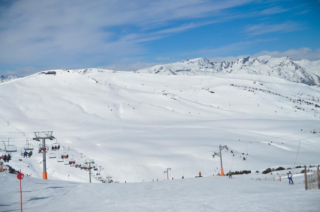 Горы Пиренеи в Андорре
