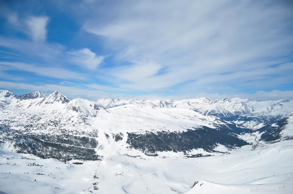 Пик гор Пиренеев