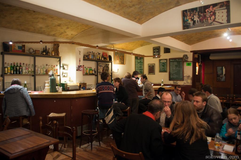 Бар Бабия таверна в Барселоне