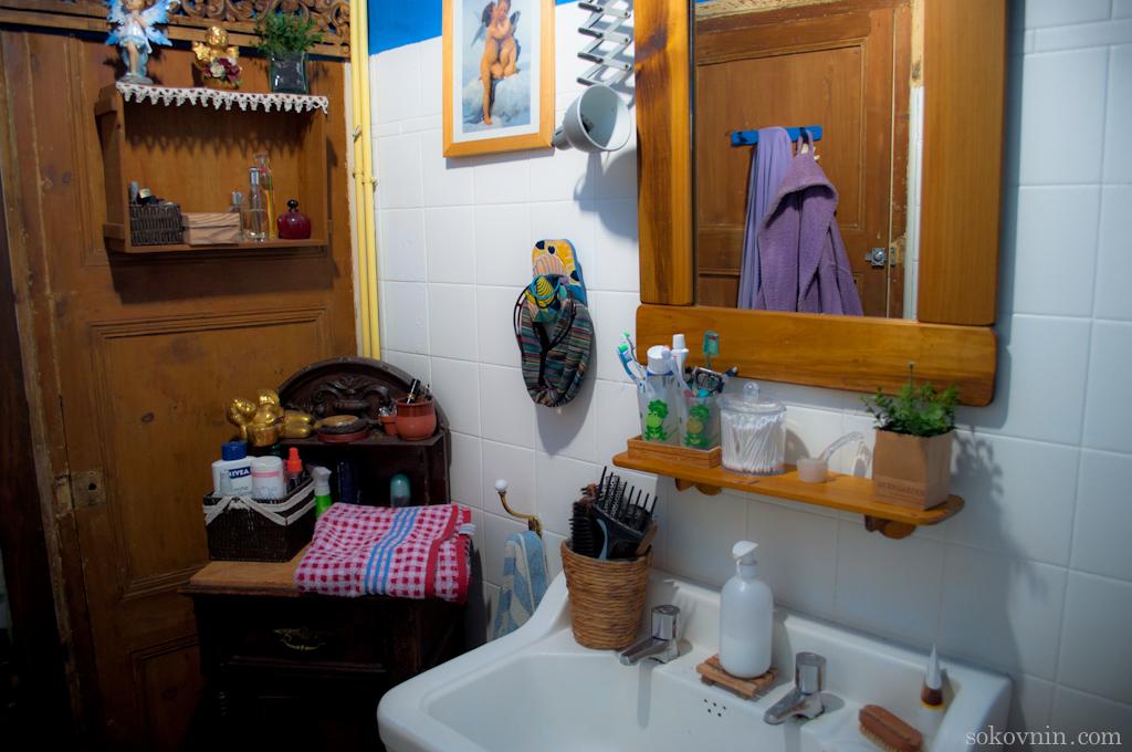 Ванная комната в нашей квартире
