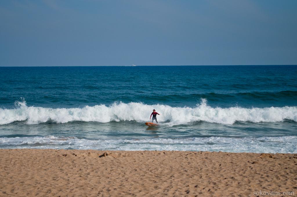 Серфинг в Барселоне