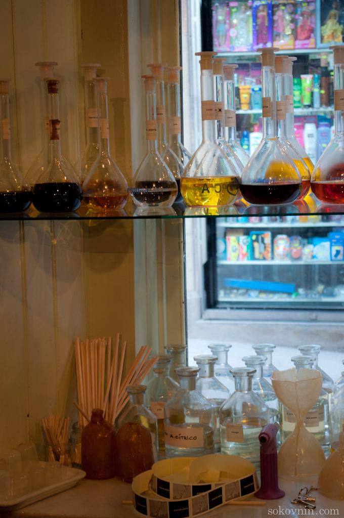 Магазин Папабабл в Барселоне