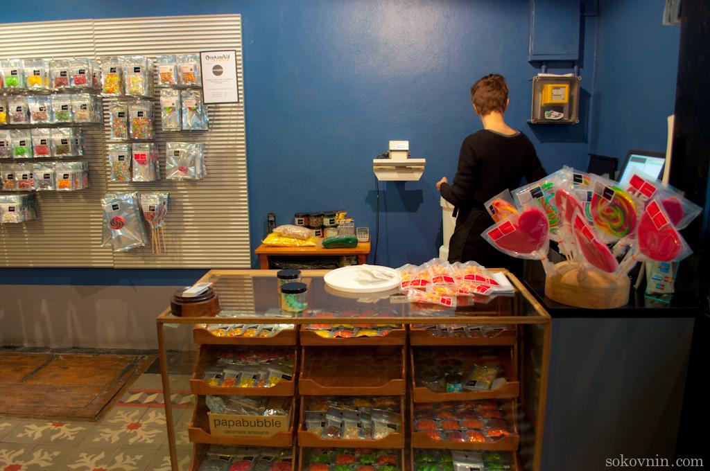 Магазин карамели ручной работы
