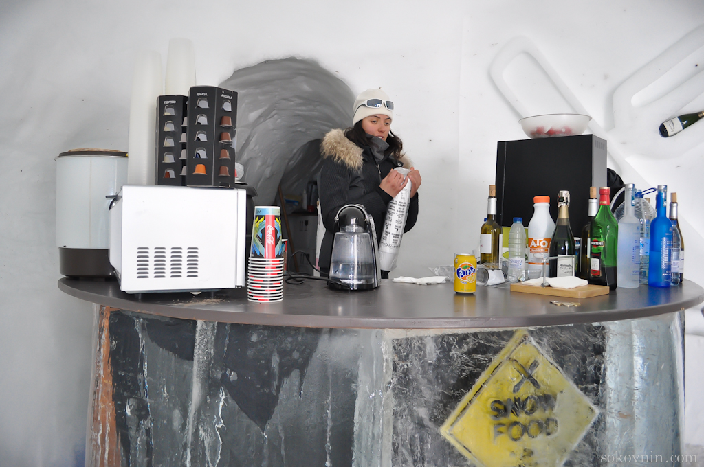 Ice Bar в Андорре