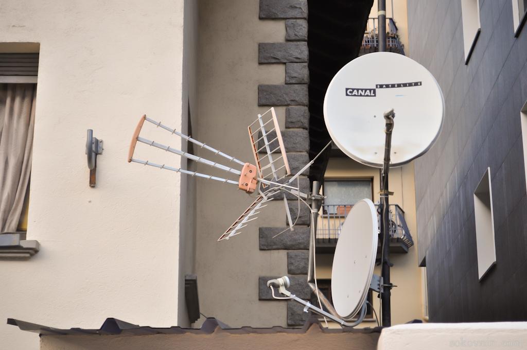 Телевизионные антенны в Андрорре