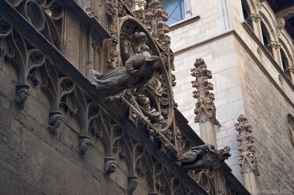 Готическая архитектура Барселоны