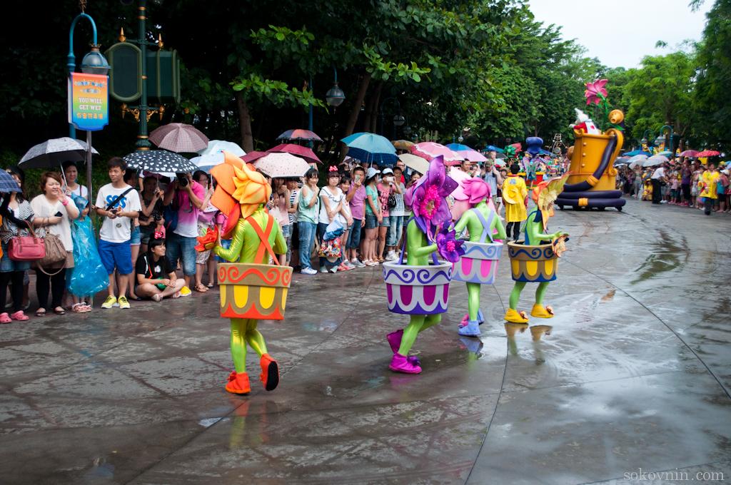 Карнавал в Диснейленде