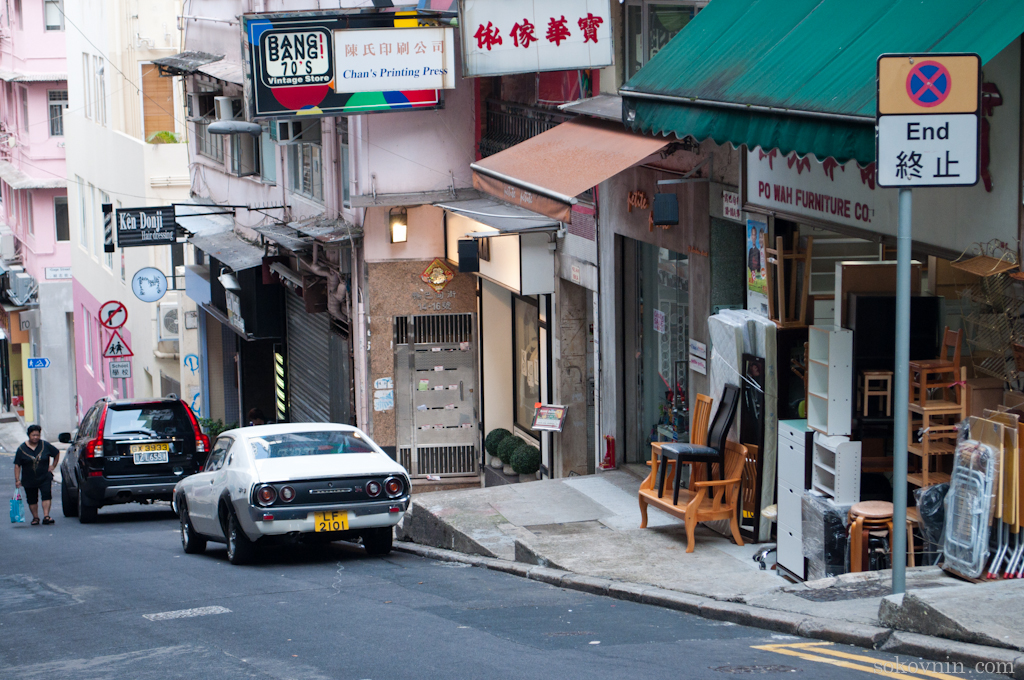 Сходите погулять на Голливуд роад в Гонконге