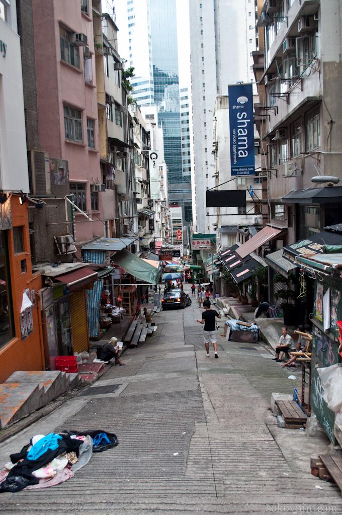 Трущобы в Гонконге