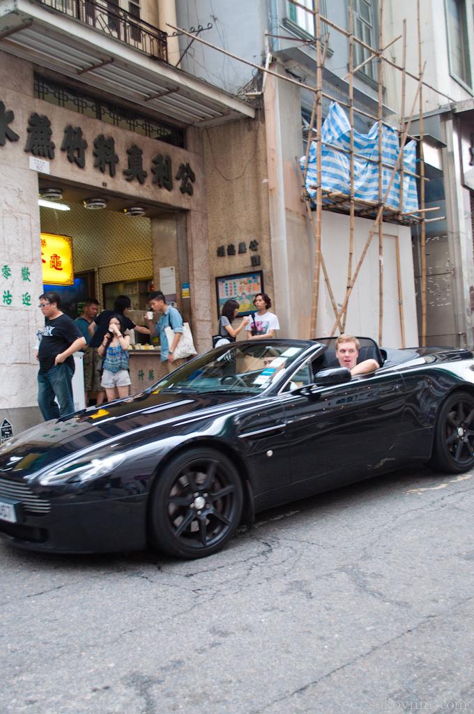 Дорогие машины у гонконгских жителей