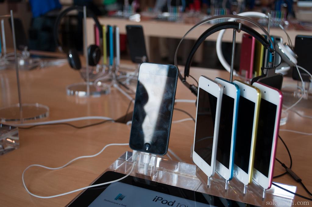 Apple в Барселоне