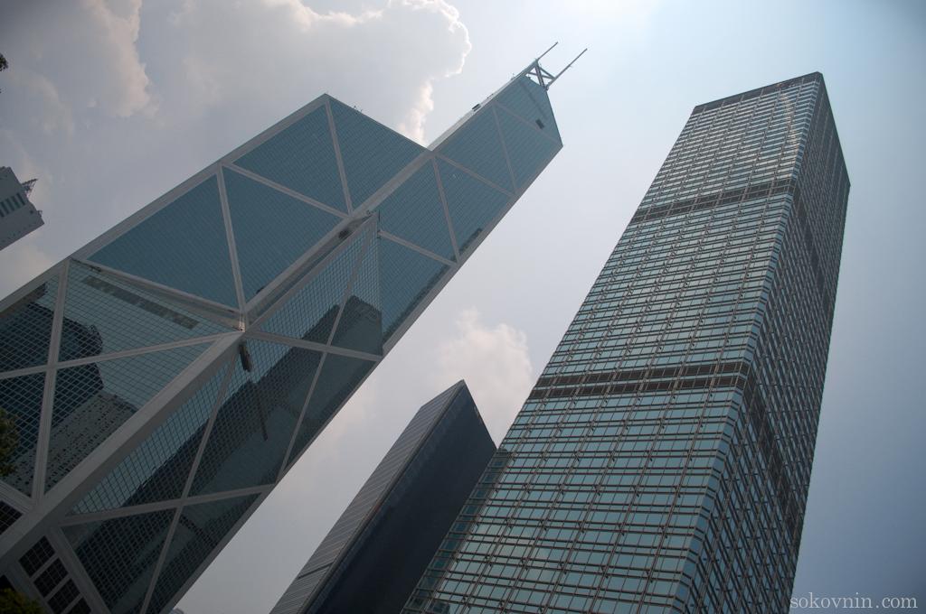 Небоскрёбы в Гонконге