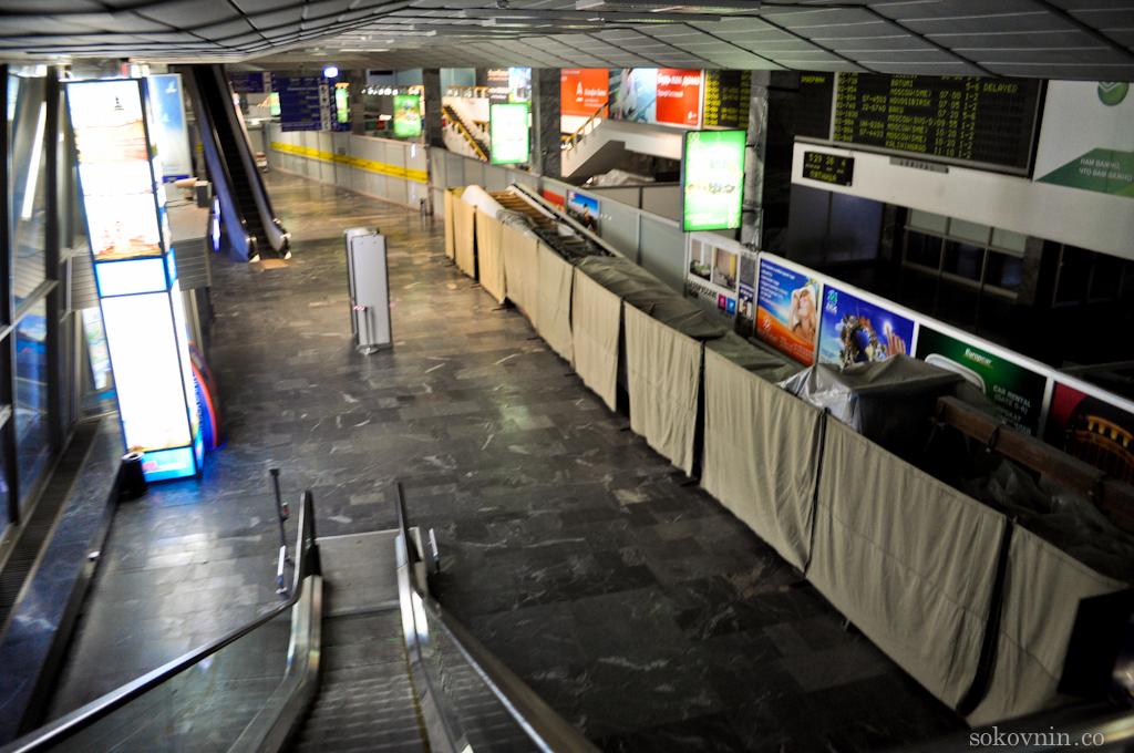 Никого нет в Минском аэропорту