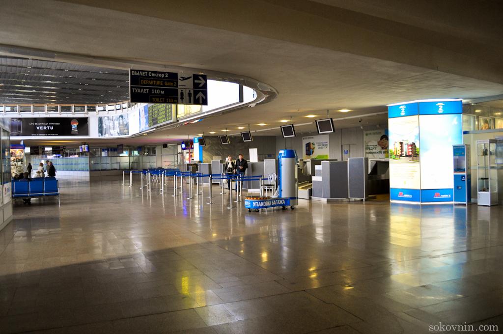 В Минском аэропорту чисто и уютно