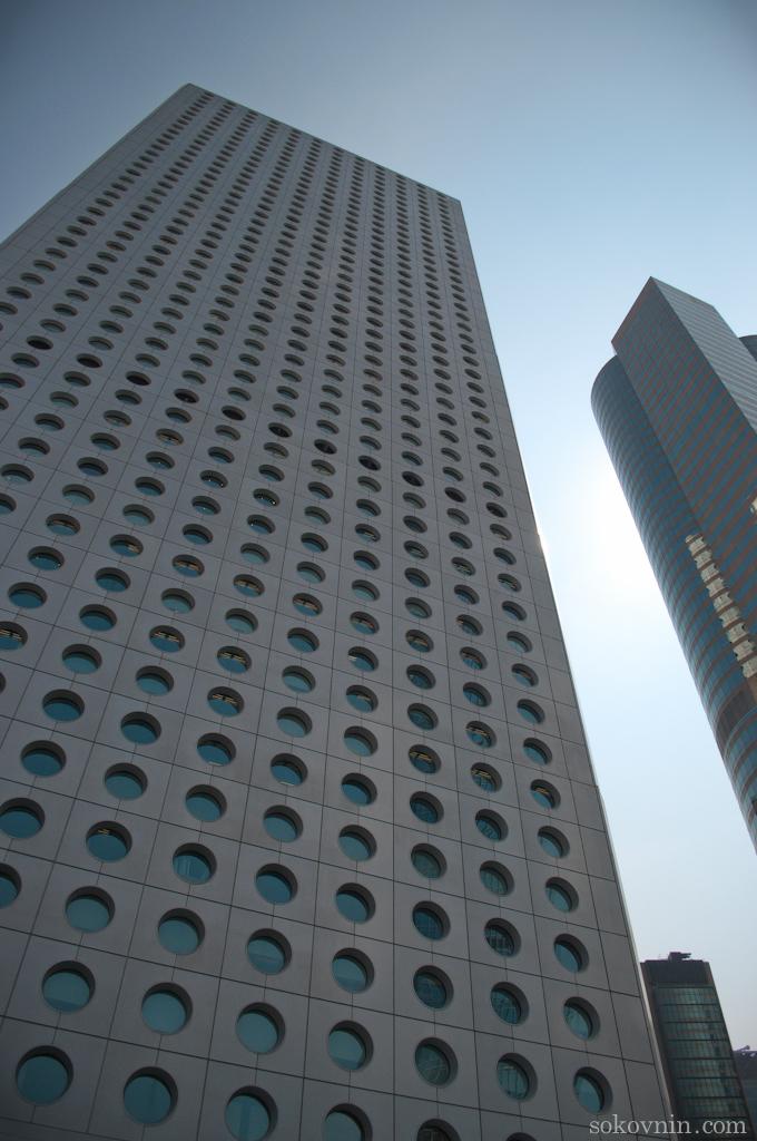 Многоэтажные дома в Гонконге