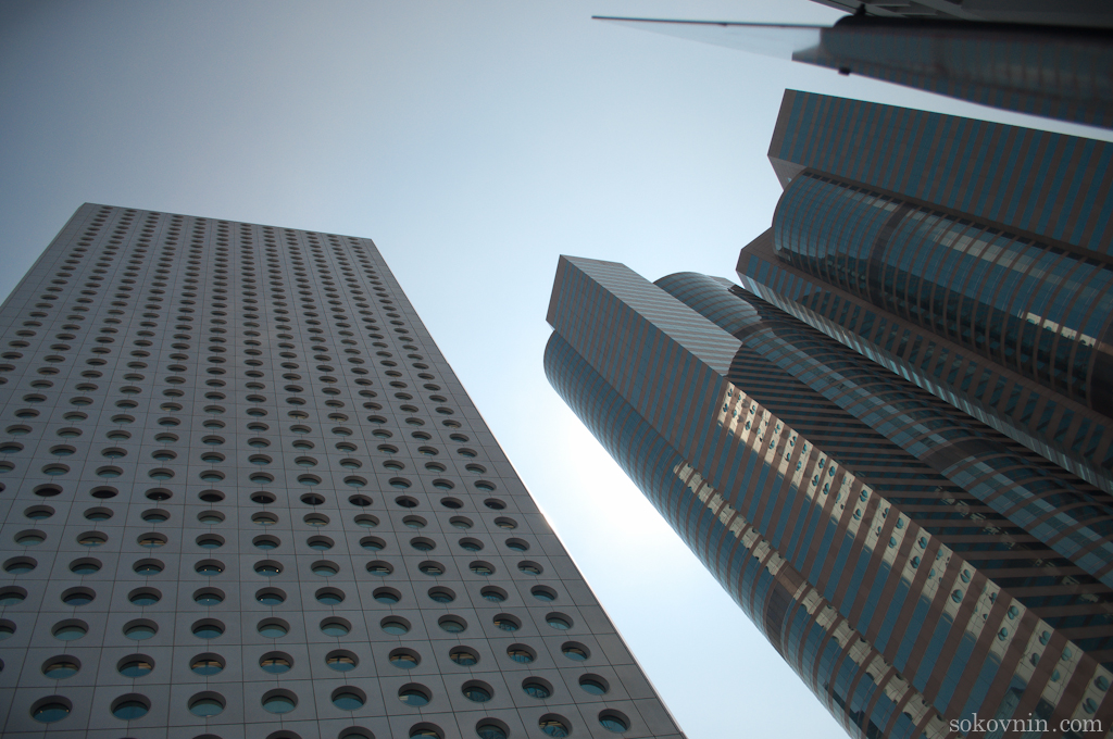 Гонконгские небоскрёбы
