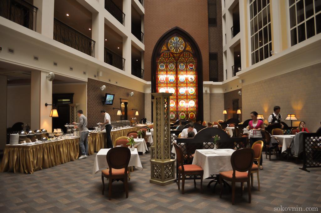 В отеле Heliopark Kaiserhof хорошие завтраки