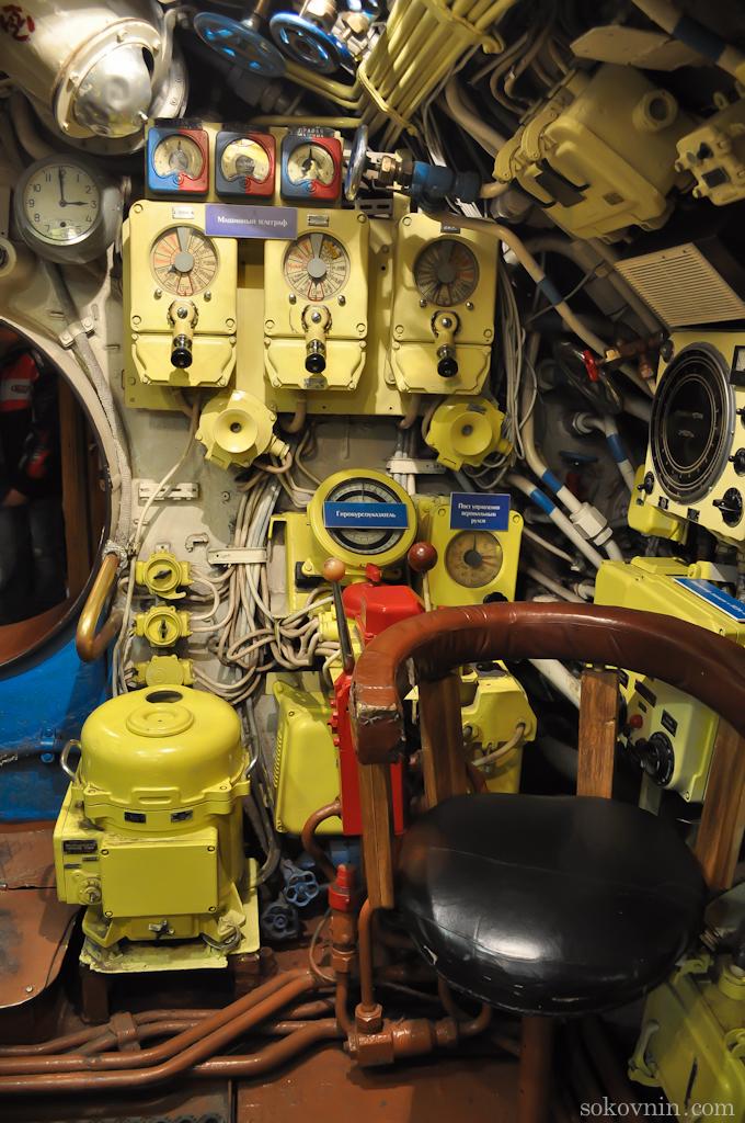 Оборудование и приборы на подводной лодке