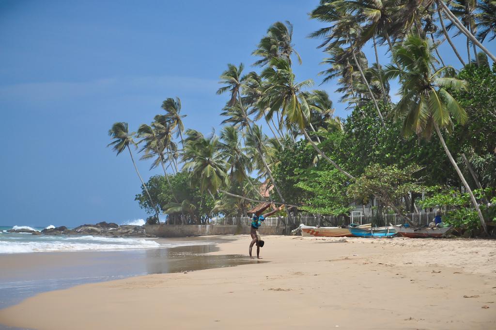 Пляж Dickwella на Шри-Ланке