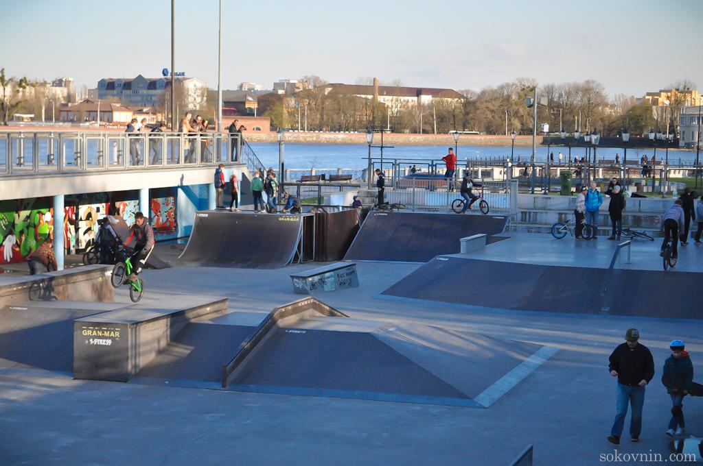 Скейт-парк в Калининграде
