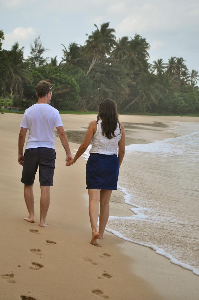 Гуляем по пляжу