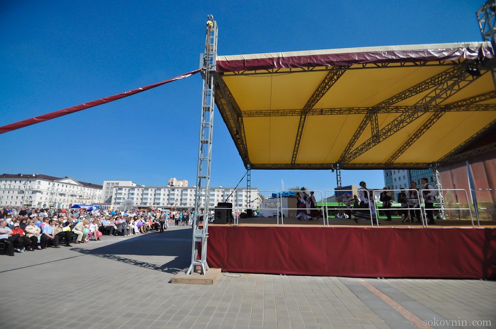 Крнцерт для ветеранов 9 Мая в Витебске