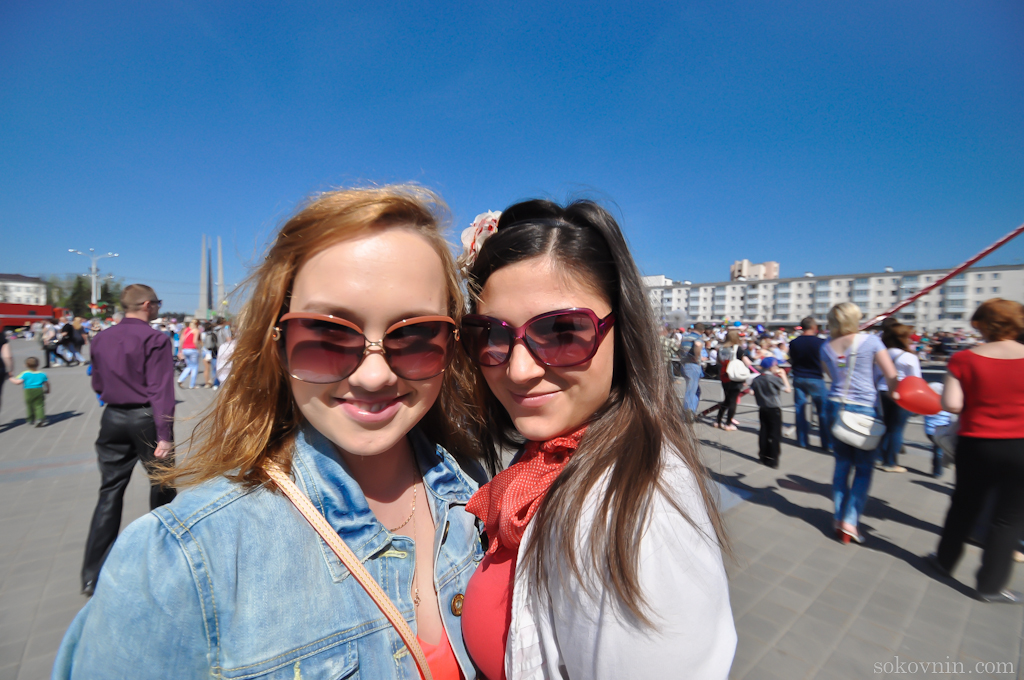 Прогулка по Витебску с девушками