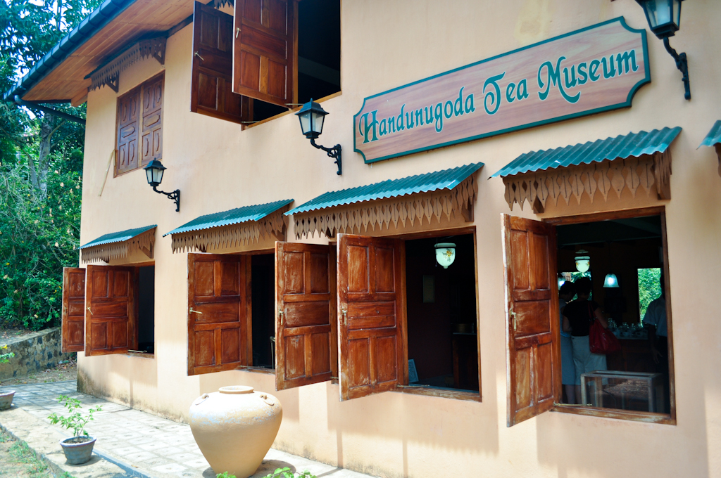 Производство и продажа чая на Шри-Ланке