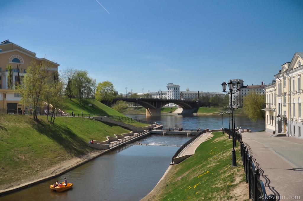 Западная Двина в Витебске