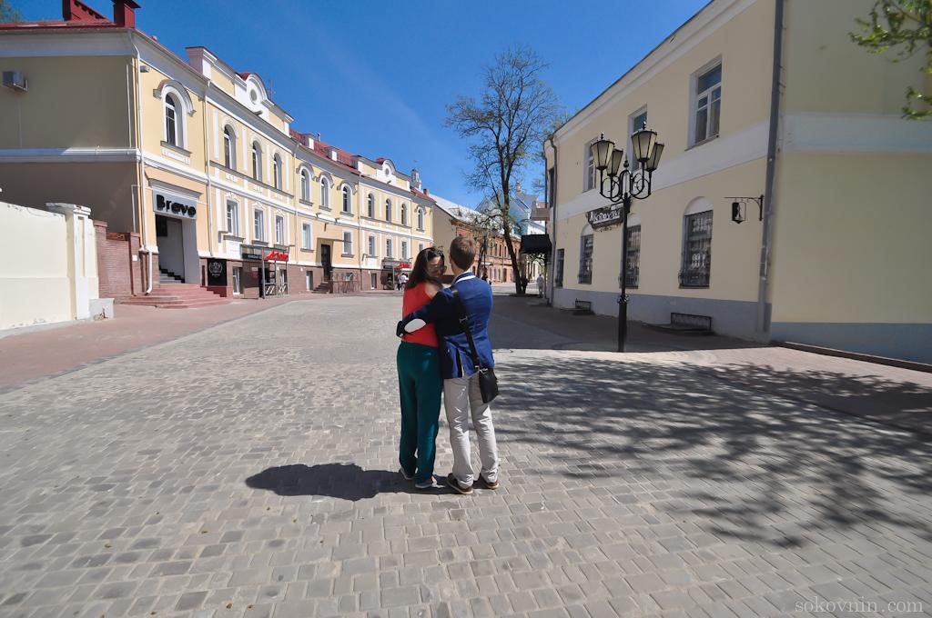 Гуляем по старому городу в Витебске