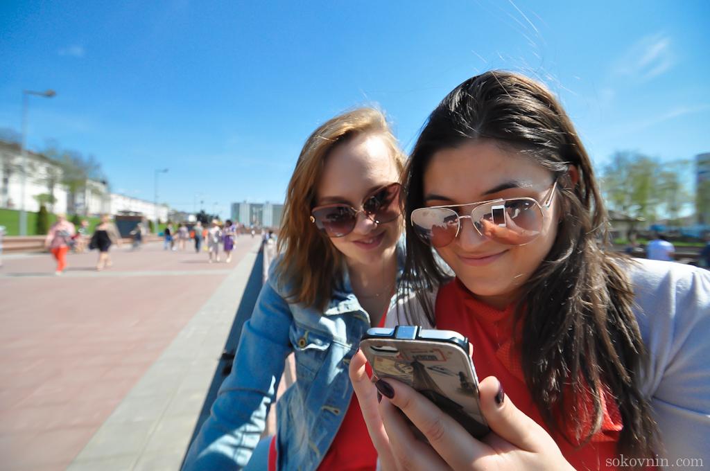 Девушки в Витебске