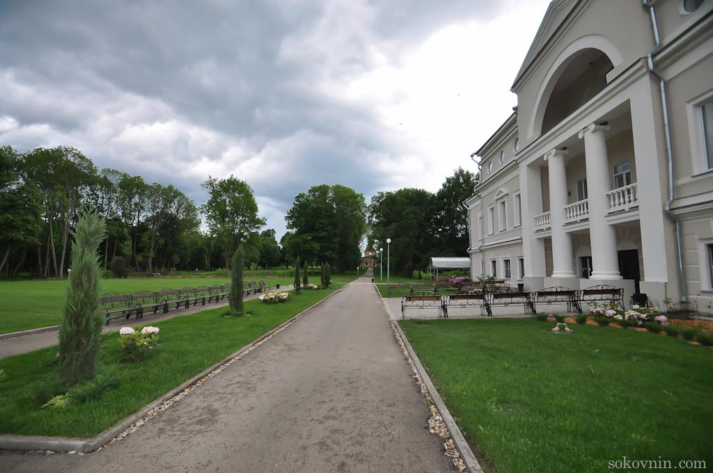 Парк в усадьбе Лафер