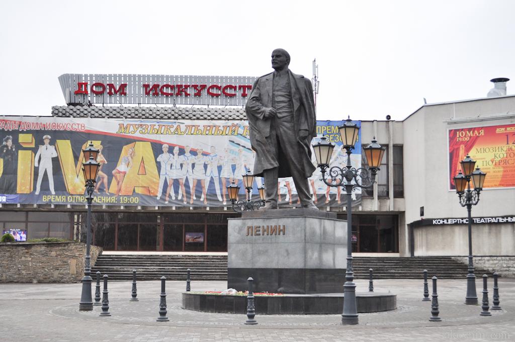 Площадь Ленина в Калининграде