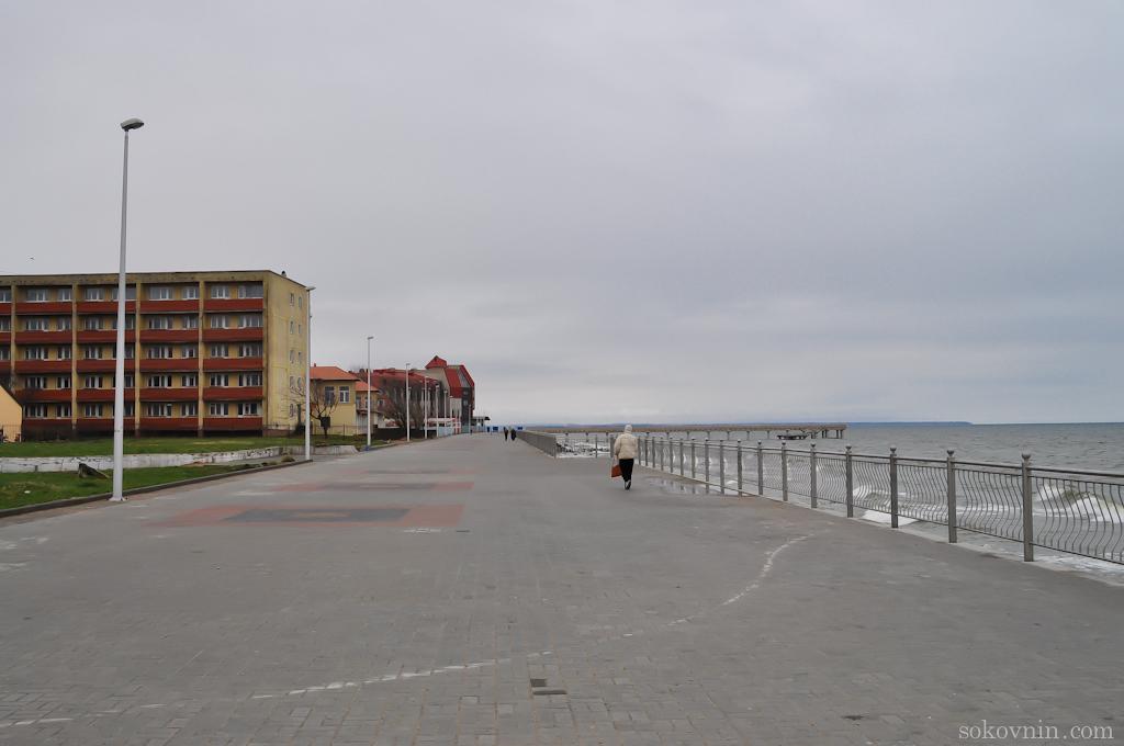 Зеленоградск, прогулка по набережной