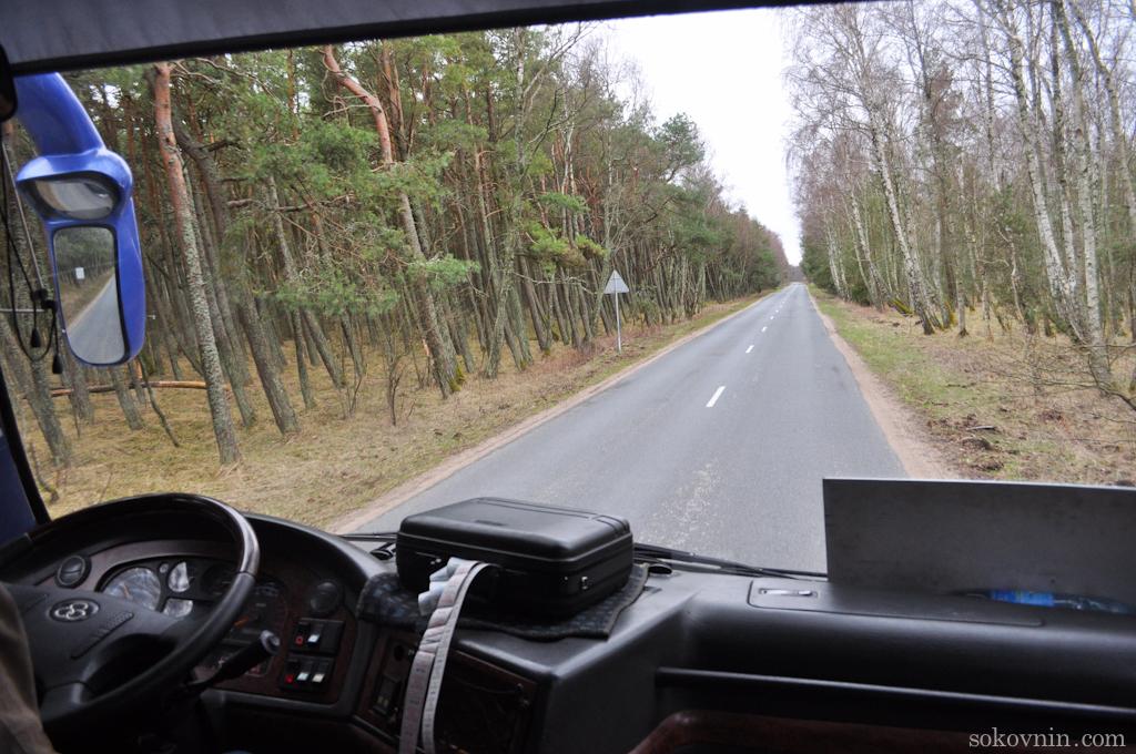 Автобус до Зеленоградска