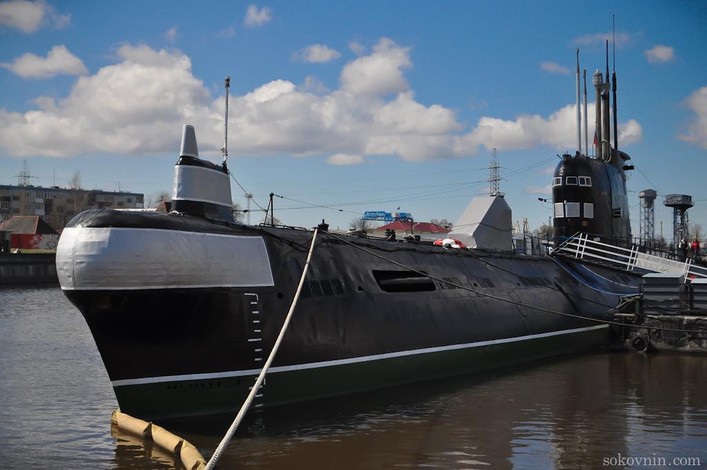 Подводная лодка в Морском музее
