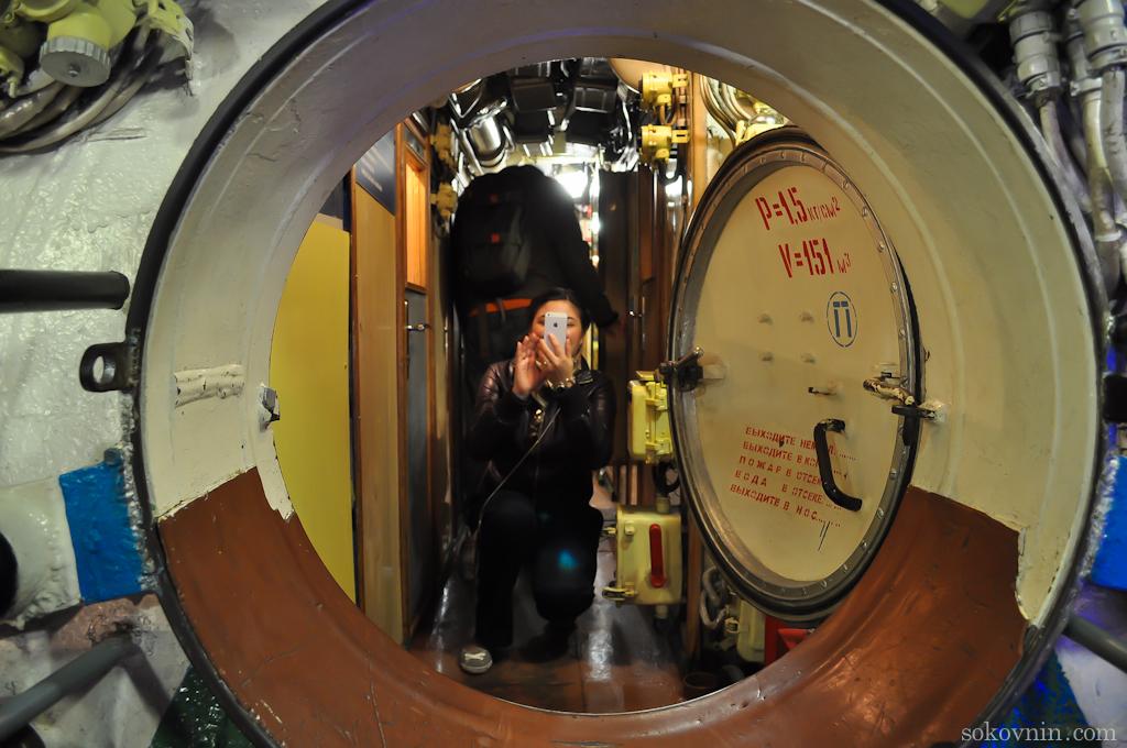 Отсеки в подводной лодке
