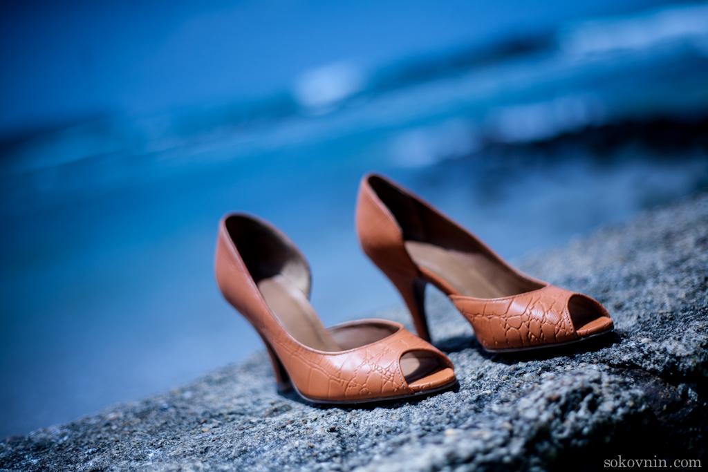 Викины оранжевые туфли